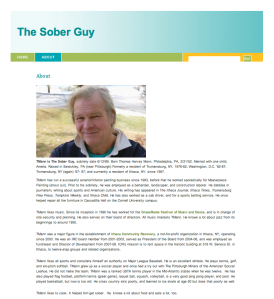 TMann's blog, thesoberguy