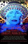 2013 Joni Mitchell Trubute concert poster. Painting by Kirsti Ottem Langeford.