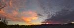 sunset 10-11-2013 pano